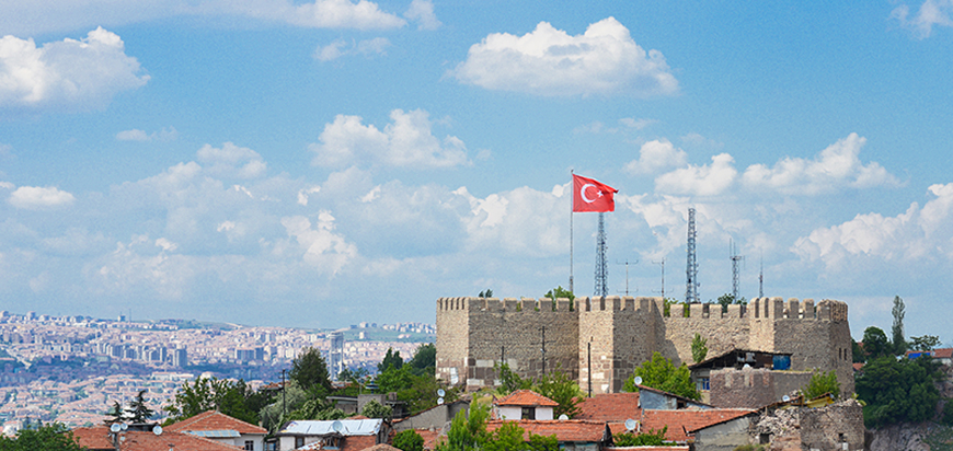 Ankara Castle Turkey